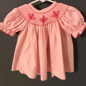 Other - Pink Smocked Dress